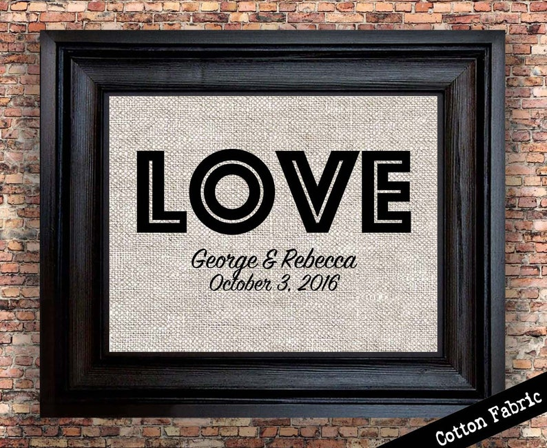 Cotton Anniversary Gift For Wife Personalized Gift For Etsy