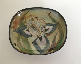 Vintage Chelsea Pottery Dish Wall Plate