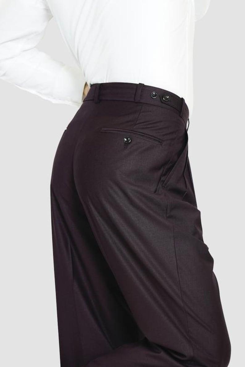 Classic Tango Pants Burgundy