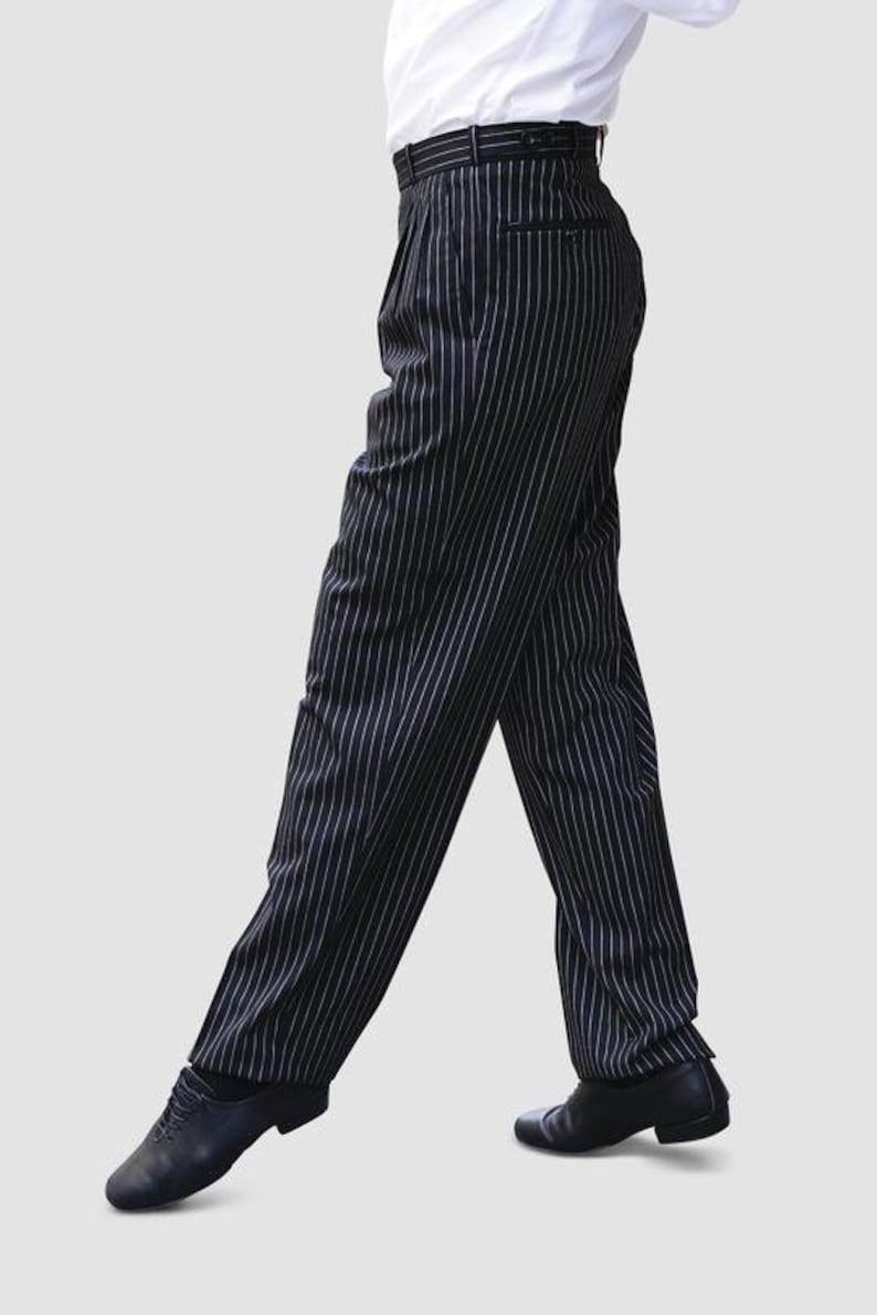 1940s Trousers, Mens Wide Leg Pants   AT vintagedancer.com