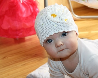 Baby & Toddler Clothing 100% True Baby Girls Beanie Hat Infant White Cotton Crochet Kufi Kids Cap Photo Prop Baby Accessories