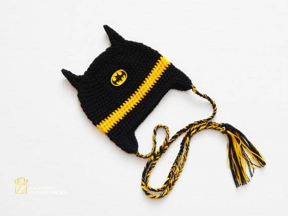 Batman Crochet Hatby Newborn Beanie Cute And Soft Etsy