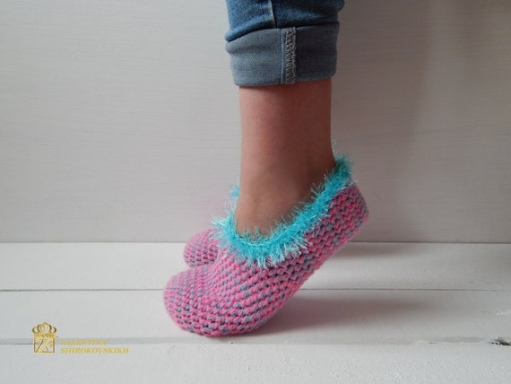 Home Women Slippers Crochet shoes SLIPPERS WOMAN shoes Knitted SOCKS slippers pq8ROWgO