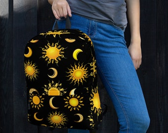 Suns and Moons Celestial Backpack