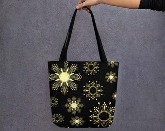 Sun Stars Tote Bag