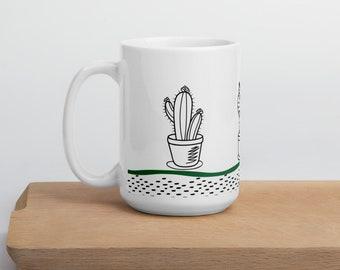 Cacti Ceramic Mug