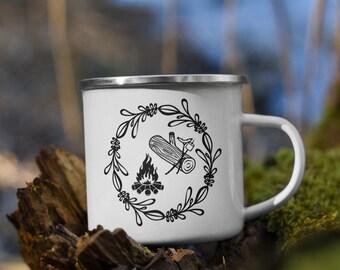 MY Camping Mug, Enamel Mug