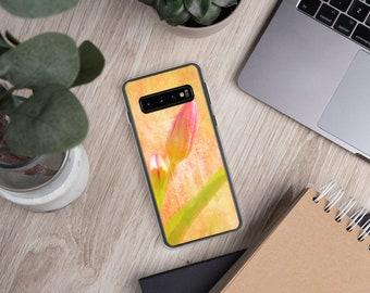 Pink Tulip Samsung Phone Case