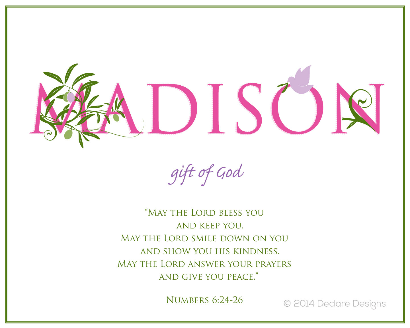 Madison name art canvas with name meaning and scripture verse 16x20 madison name art canvas with name meaning and scripture verse 16x20 wall art baby name meaning negle Choice Image