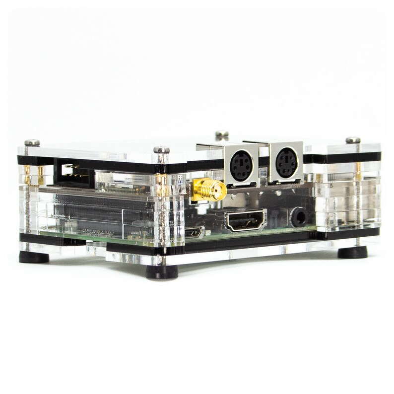 NWDRPi -1 for Raspberry Pi 3 B+ and DRAWS™ Digital Radio Amateur  Workstation (HAT) Case