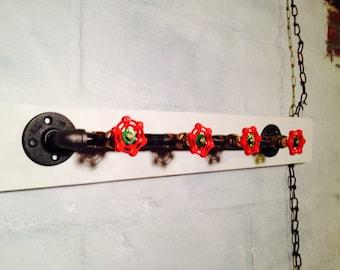 Industrial coat hooks - 4 faucets