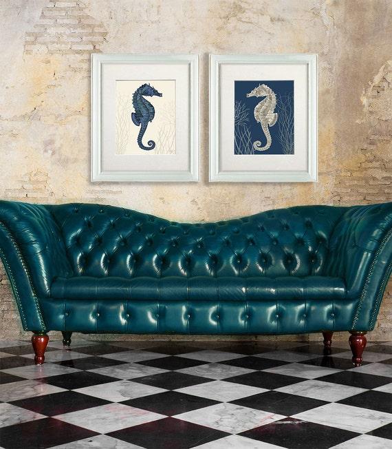 Seahorse Prints