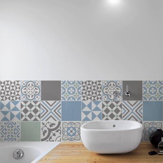 Portugese Pastel tegels Wall trappen tegel Stickers | Etsy