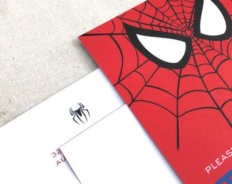 Items Similar To 275 Diy Barbie And Spiderman Invitations Cards