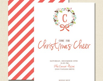 Christmas Cheer Invitations