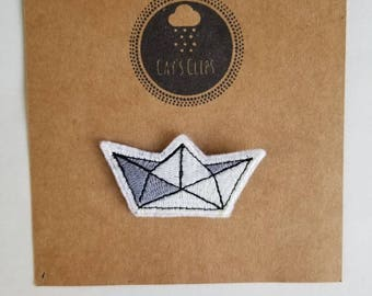 Paper Boat Patch