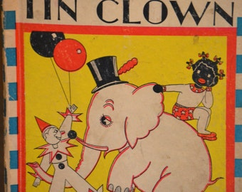 Children's Book, Topsy Turvy and the Tin Clown