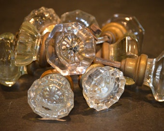 Glass or Crystal Door Knob Collection