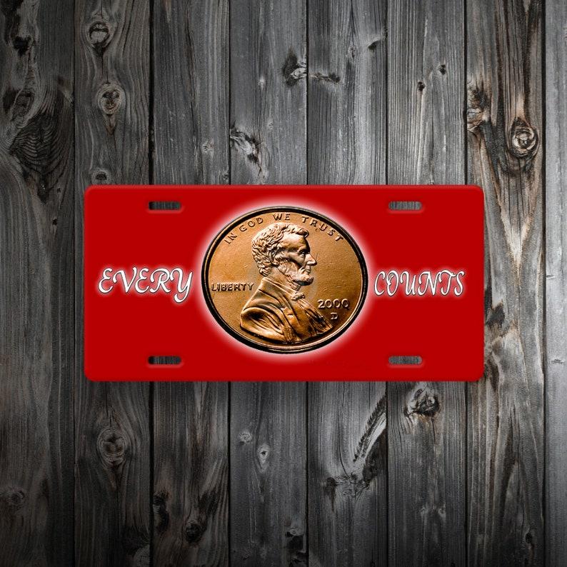 Metal Sign Car Tag Garage Plate Tag License Plate Tag