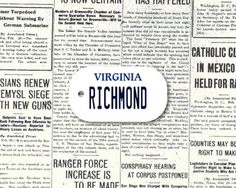 Customisable Dog Tag (USA State License Plate Type) / Virginia