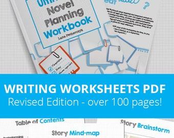 Ultimate Novel Planning Workbook - Printable worksheets