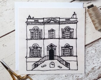 Erasmus Darwin House Lichfield Greetings Card Blank Inside