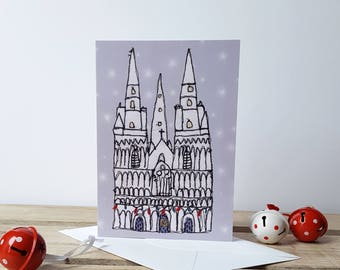 Lichfield Cathedral Christmas Card