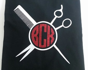 Monogram Hair Stylist Tee