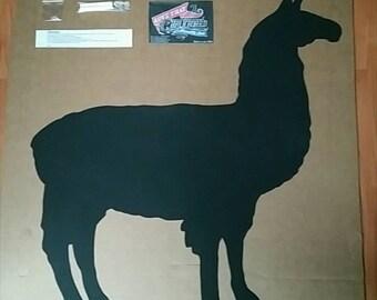Linda's Llama Chalkboard