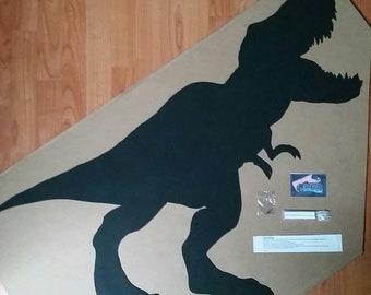 Wendy's T-rex Chalkboard