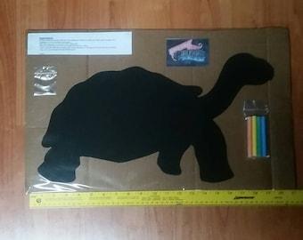 Kristen's Small Turtle Chalkboard 19 inches wide.