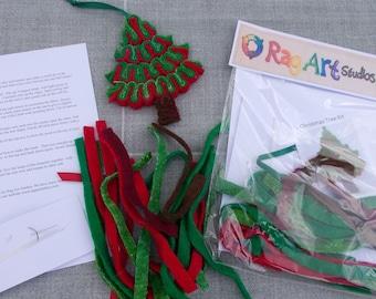 Standing Wool Christmas Tree Kit