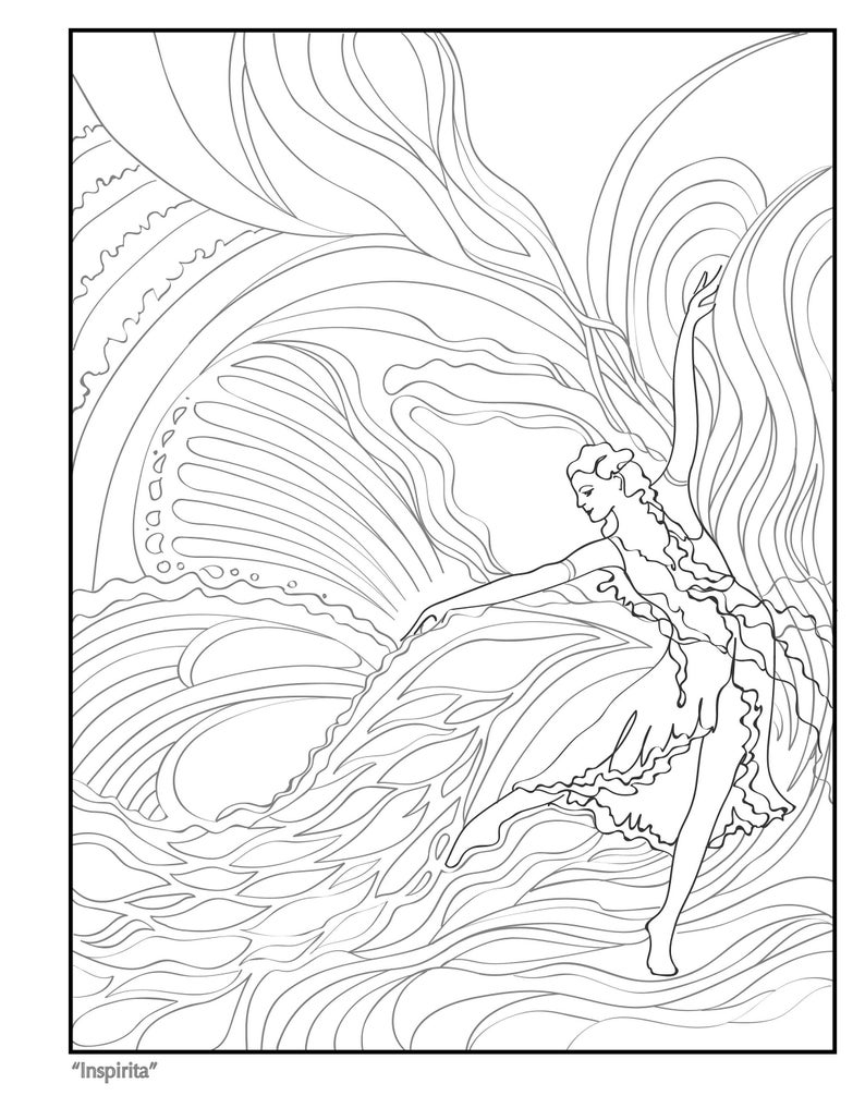 Inspirita Coloring Page  from Vol. 1 image 0