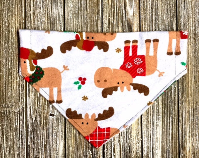 Christmas Moose Bandana