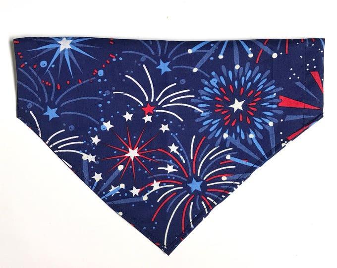 Stars & Fireworks bandana