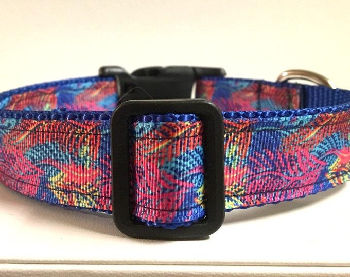 "1"" Ferns lilly inspired collar"