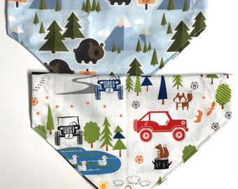 Reversible lets go off roading but dont feed the bears bandana