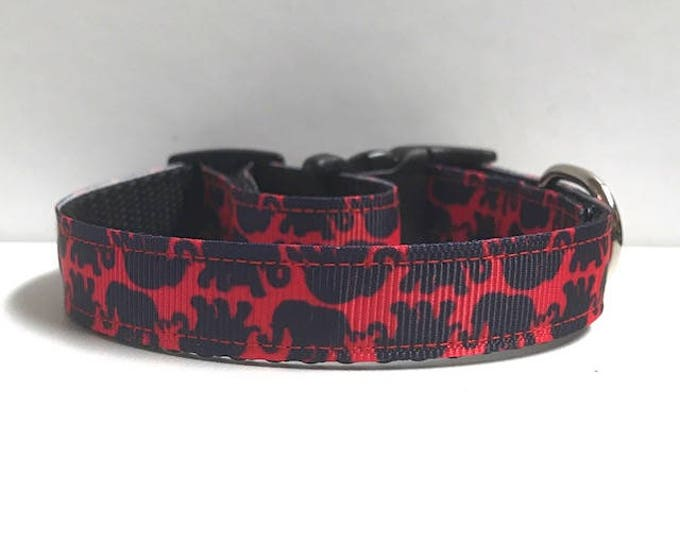 "5/8"" Elephants, Lilly inspired Collar"