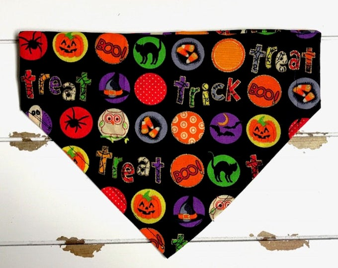 Trick or Treat Bubbles Bandana