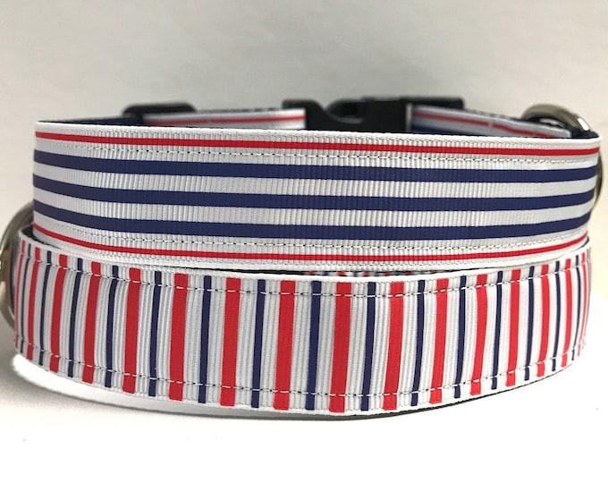 "1"" stripes collar"