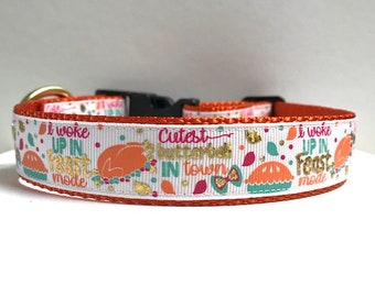 "1"" Feast Mode Dog Collar"