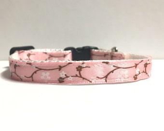 "3/8"" cherry blossom collar"