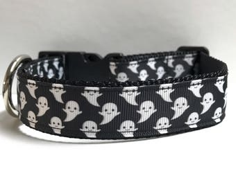 """1"""" Floating Ghosts Dog collar"""