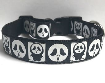 "1"" Monster Ghoul Dog Collar"
