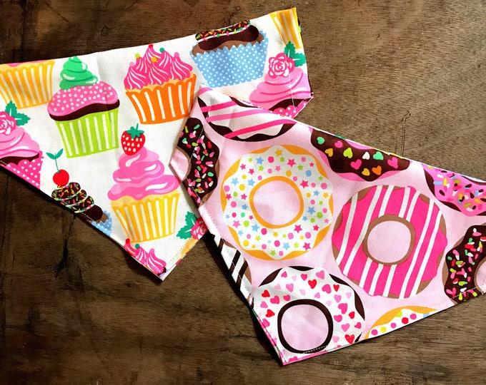Reversible sweet tooth bandana