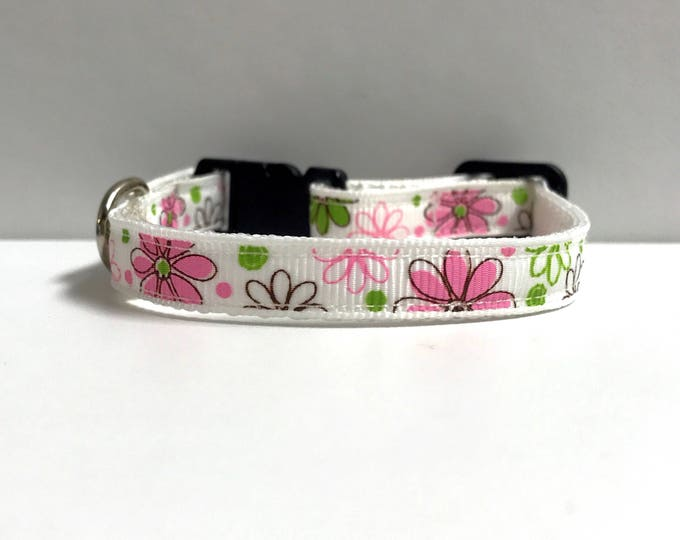 "3/8"" Floral collar"