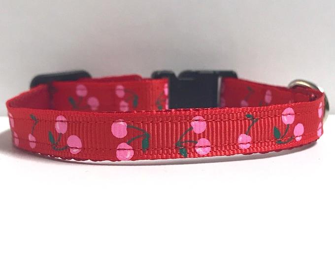 "3/8"" Very Cherry collar"