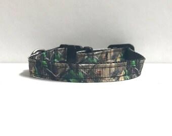 """3/8"""" Dark Green camo Collar"""