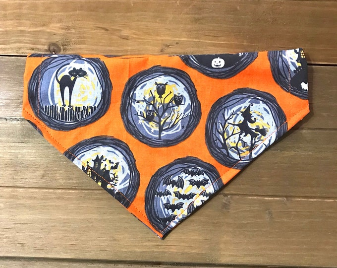 halloween glass bandana