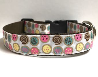 """1"""" Cookie collar, Leash Available"""